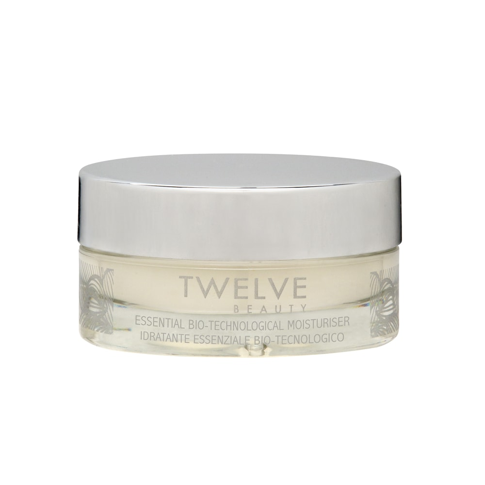 Die Essential Bio-Technological Moisturiser von Twelve Beauty morgens verwenden.